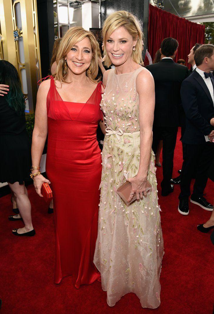 Pin for Later: Les Moments les Plus Mignons et les Plus Random des SAG Awards Edie Falco et Julie Bowen