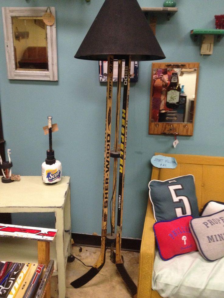 Hockey Stick Lamp - floor