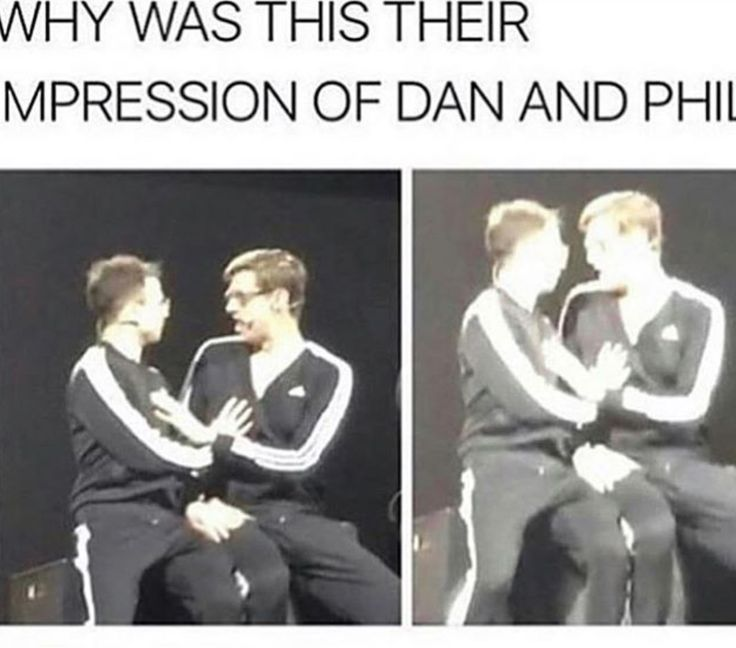 Two of my favorite peoples, Dan and Phil and the try guys