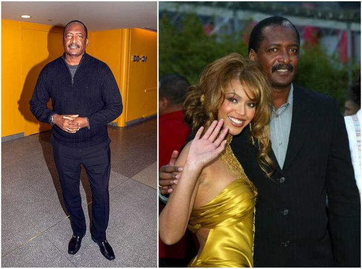 Beyonce with father Mathew Knowles