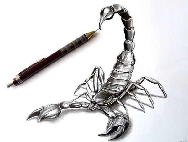 Resultado De Imagen Para Tattoo Scorpion 3d Tatuaje De Escorpion Escorpion Dibujo Tatuajes Escorpion