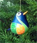 Selection of handblown glass Christmas ornaments sold wholesale