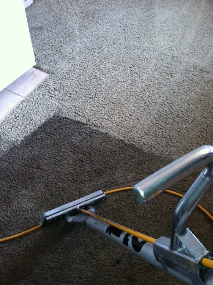 Before & after carpet cleaning by San Diego, Stanley ...