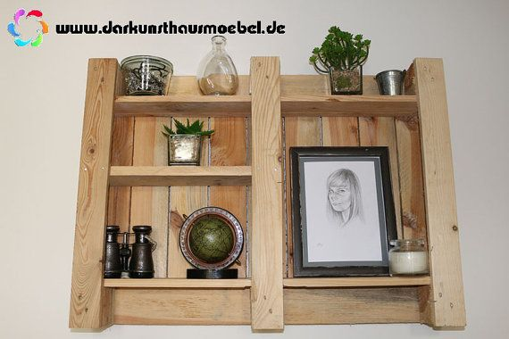 Furniture from pallets - shelf
