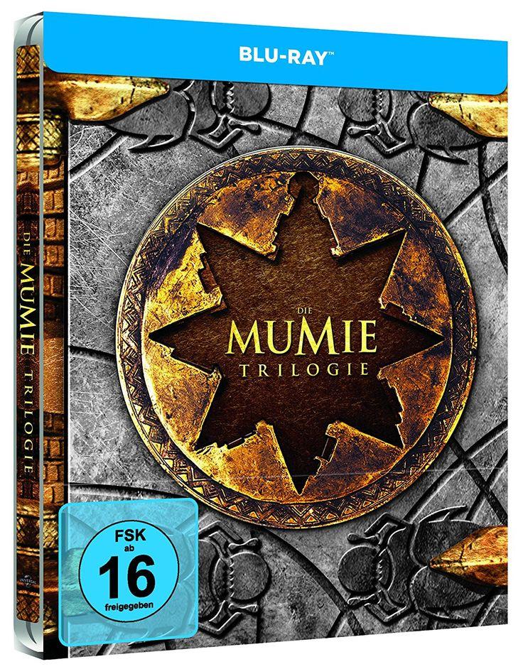 Die Mumie Trilogie (Steelbook)