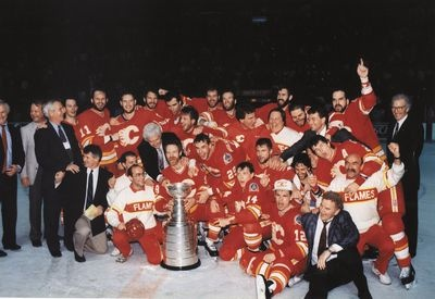 Calgary Flames win the Stanley Cup