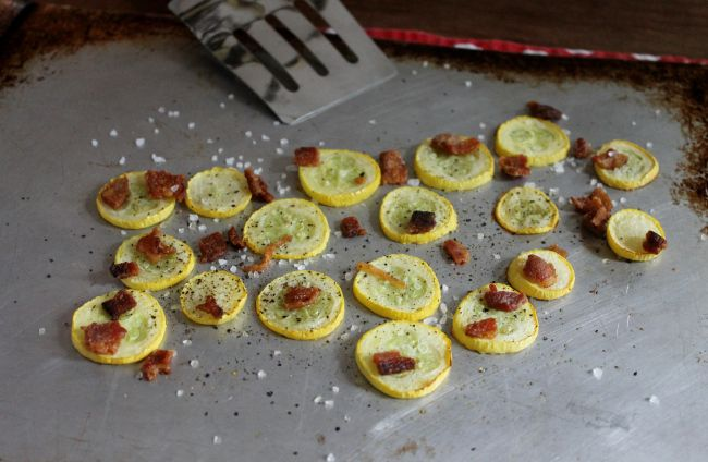 Roasted yellow squash, Squashes and Bacon on Pinterest