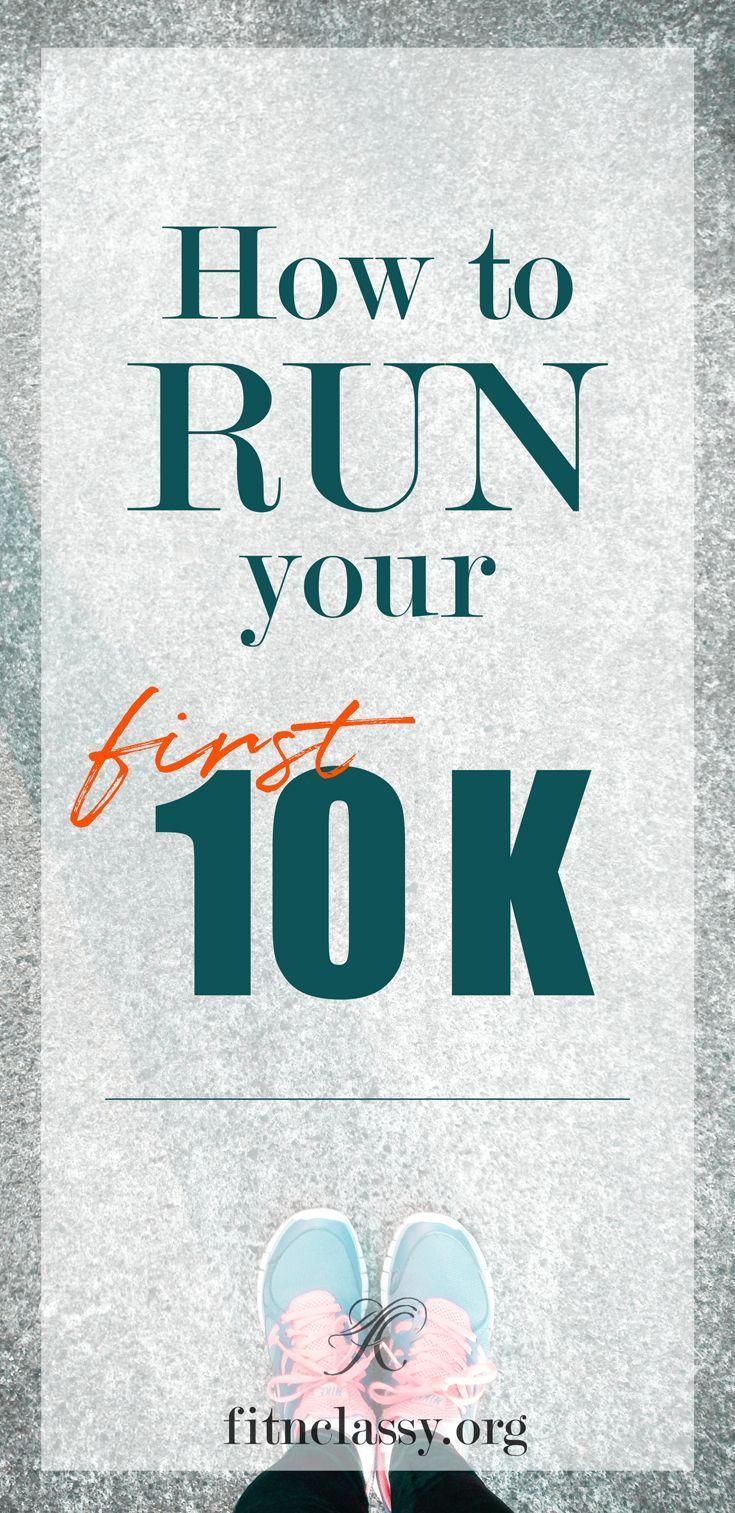 How to run your first 10K when you're not a runner. #fitness #running #runningtips #10k #jogger