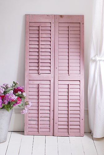 This is one of the back drops I'm using for her 1st bday pics ;) Not exactly like this but the the shutters idea..but in hot pink!
