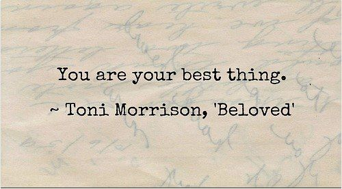 """a broad meaning of literature in beloved by toni morrisons - toni morrison, beloved """"beloved"""" is a beautiful, haunting story that is set around the time following the slavery emancipation declaration it's mysterious and supernatural, as well as being a love story, a tale of horror, forgiveness, loss and confusion."""