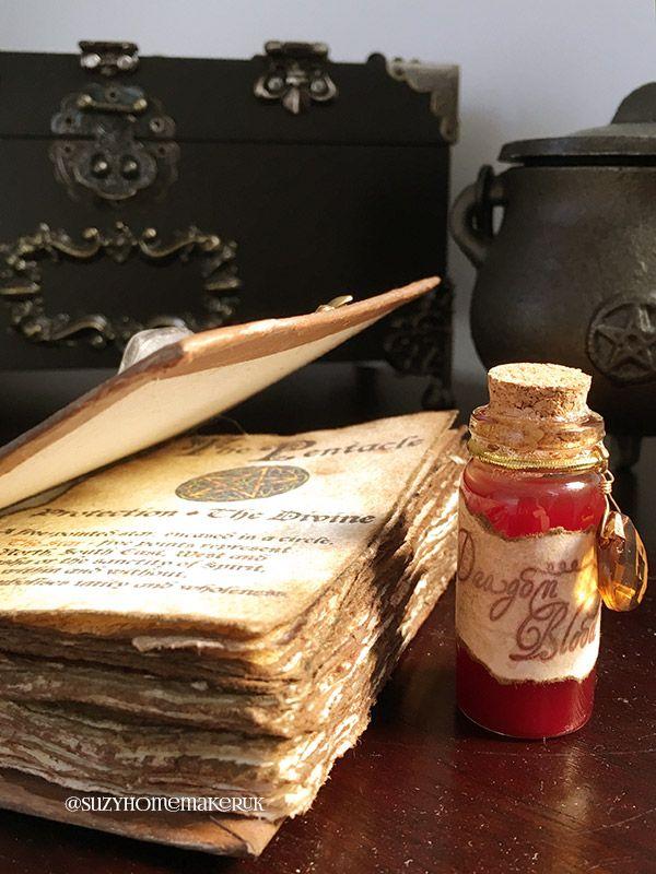 Handmade Spell Book - The World of Suzy Homemaker - www.suzyhomemaker.co.uk | @SuzyHomemakerUK