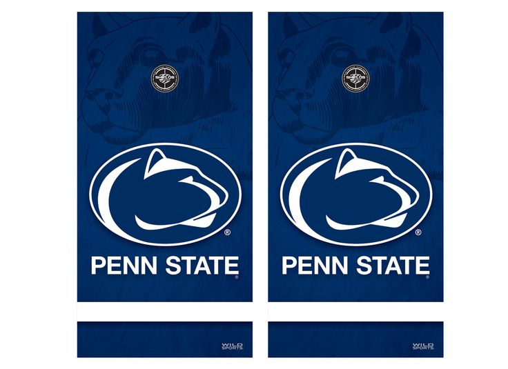 Penn State Corn Hole Penn State Cornhole Game Decal Set