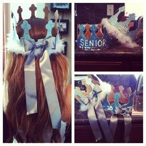 abigailjayden | made our senior crowns #2013 @geraldine_94