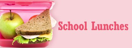 Use school lunches as a chance to steer your kids toward good choices. Especially with younger kids, explain how a nutritious lunch will give them energy to finish the rest of the schoolday and enjoy after-school activities.