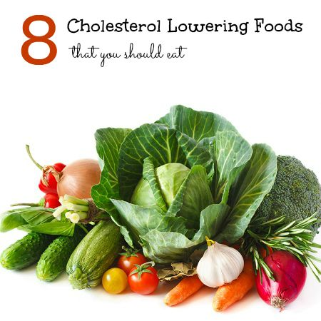 8 Cholesterol Lowering Foods that You Should Eat