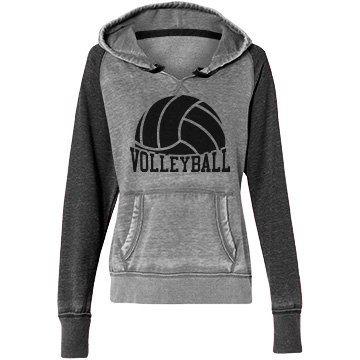 M. DAVIS Volleyball hoodie