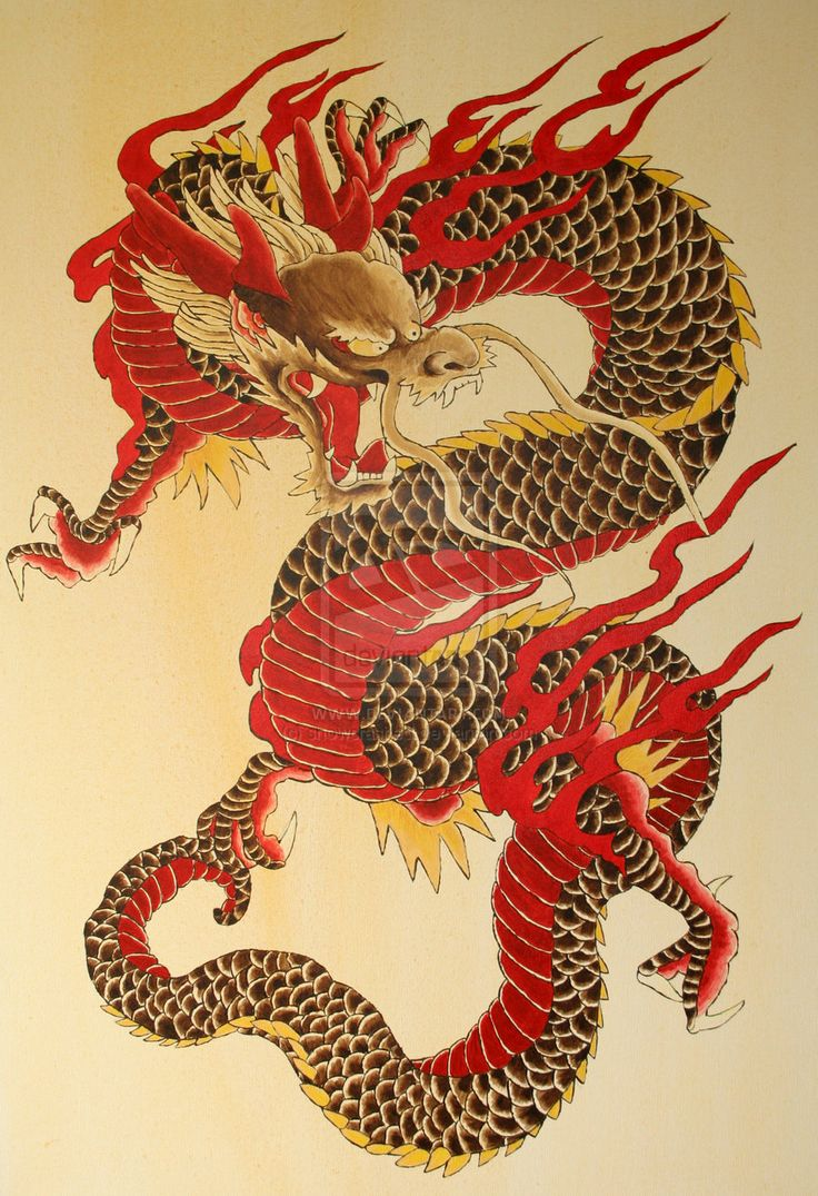 Best 25 Chinese Dragon Tattoos Ideas Only On Pinterest