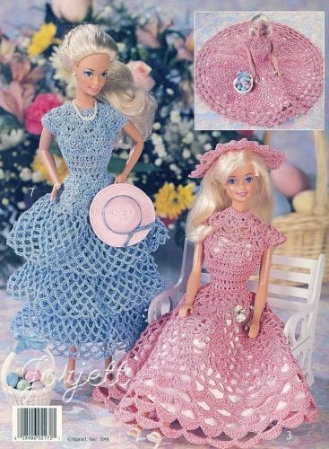 The 903 Best Crochet Doll Clothes Images On Pinterest Barbie Dress