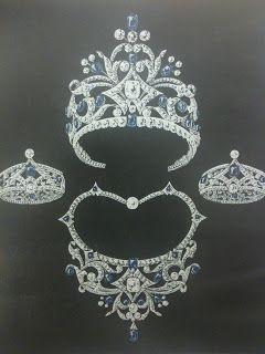 Queen Wilhelmina's Sapphires   The Netherlands
