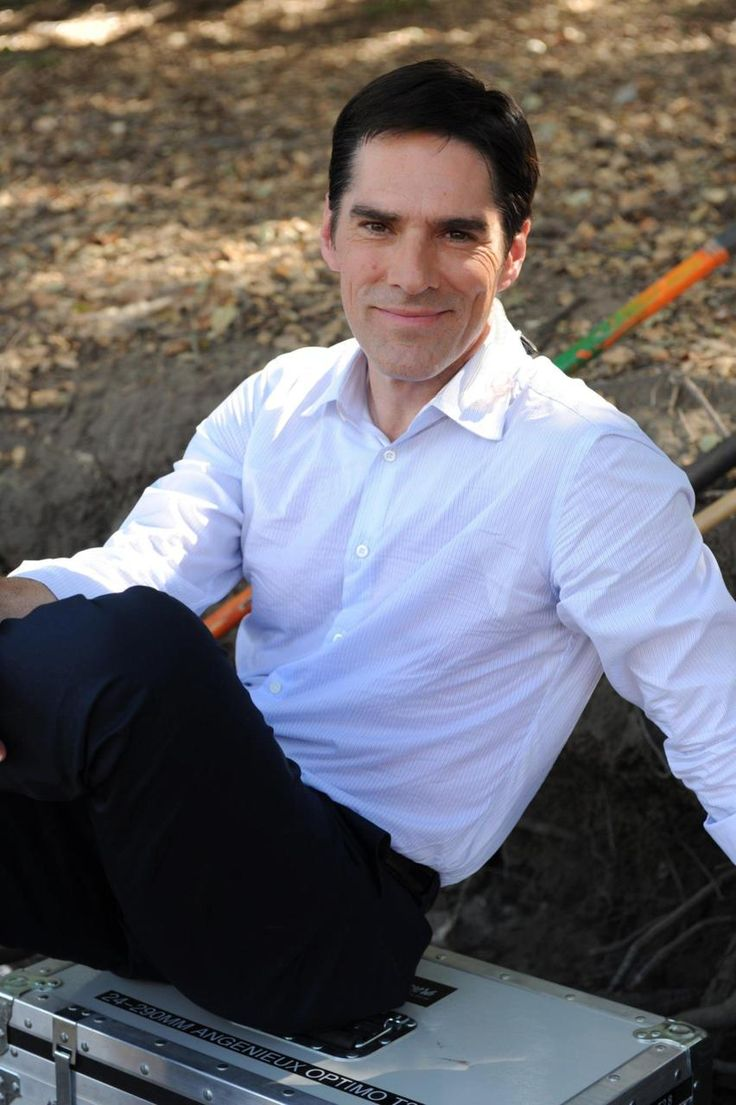 Thomas Gibson aka Aaron Hotchner - My all-time favorite tv character! <3