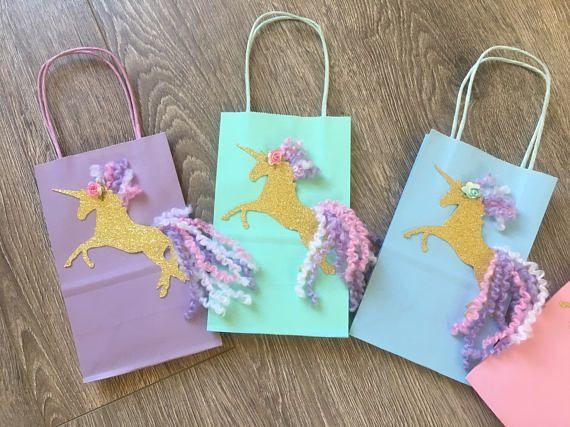 Ducha nupcial de unicornio unicornio unicornio guft bolsas