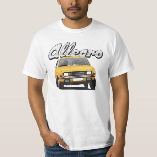 Austin Allegro UK DIY dark yellow  #austinallegro #allegro #austin #leyland #british #uk #automobile #car #tshirt #print #illtustration #zazzle #70s #classic #yellow