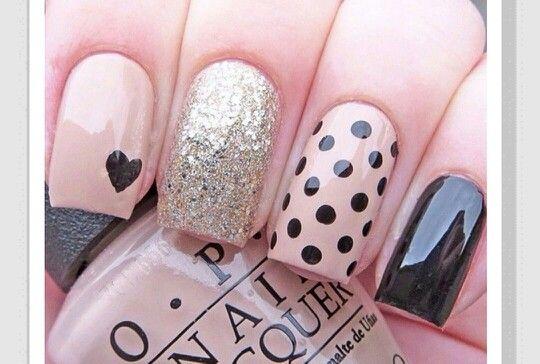 Pink Black Silver