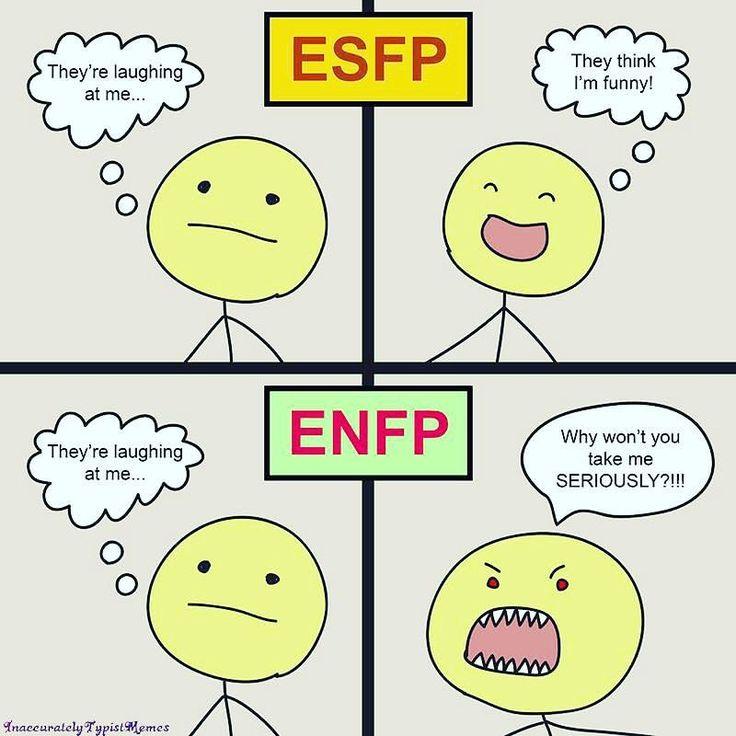 ENFp vzťahy a dátumové údaje