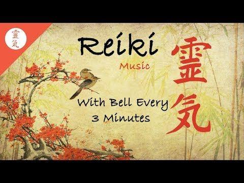 Reiki Music, Avec Bell toutes les 3 minutes, Energy Healing, Nature Sounds - YouTube