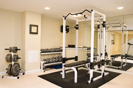although my ideal home gym will have windows this