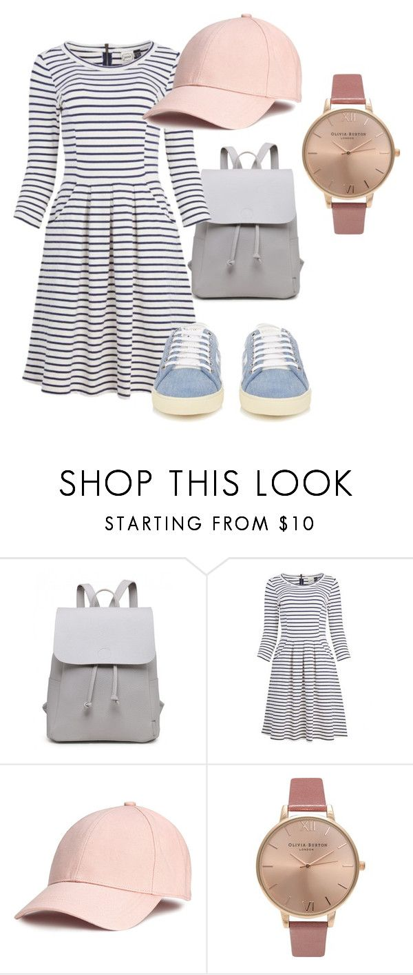 """""""Spring"""" by rosamackenzie on Polyvore featuring Olivia Burton and Yves Saint Laurent"""