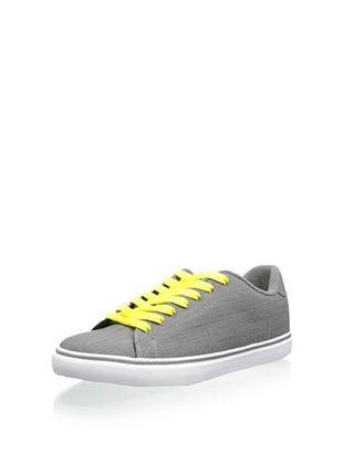 DVS Men's Gavin CT Skate Sneaker, Grey Chambray, 9 D US
