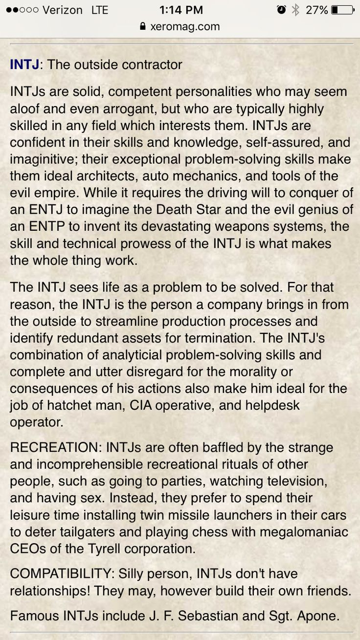 Intj Definition Of Personality Equals: 17 Best Images About Personality: INTJ, INTP, ENTJ, ENTP