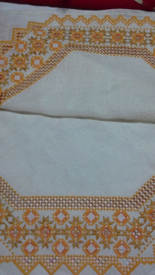 hardanger embroidery/