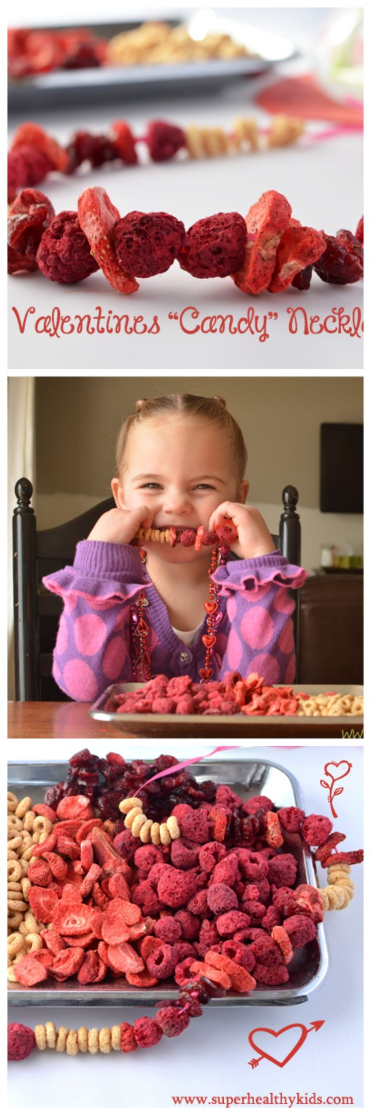 This candy necklace is sweet without sugar! www.superhealthykids.com