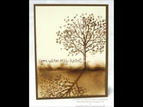 10 Quick & Easy Cards video#36 using Stampin Up Stamp set Sheltering Tree - YouTube