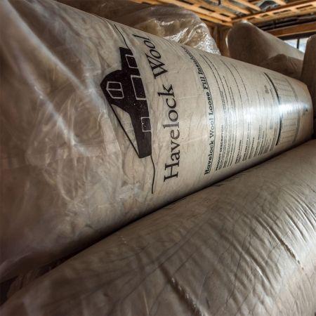 Havelock Wool Loose Fill Insulation  |  25lb bag