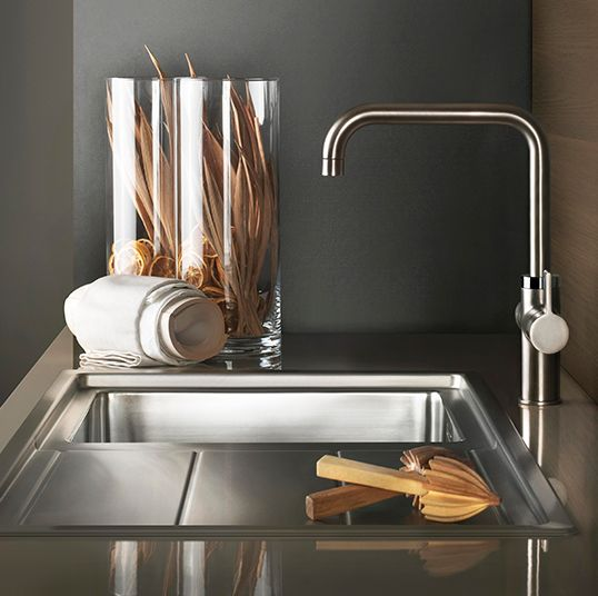25 best kitchen sinks and taps images on pinterest | kitchen sinks