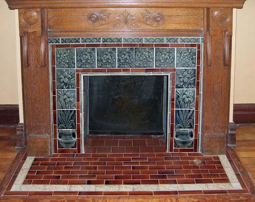 Best 25 Victorian Fireplace Tiles Ideas On Pinterest