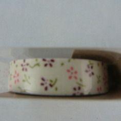 Rouleau masking tape petites fleurs