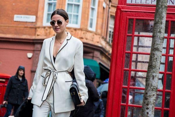 Londra+Moda+Haftası+Sokak+Stili