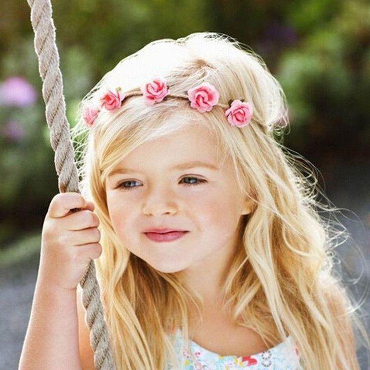 Mini Rose Flowers Headbands Flower Hair Accessories