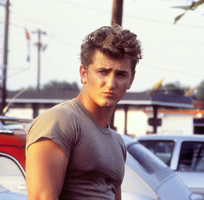 "Sean Penn as Brad Whitewood Jr, ""At Close Range"", 1986  AWESOME movie....based on a true story!  Great cast!"