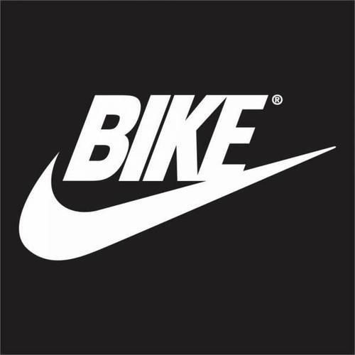 Bike swoosh