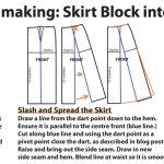 Frakenpattern Skirt - patternmaking for the half circle + half a-line dress on www.duellingdesigns.com