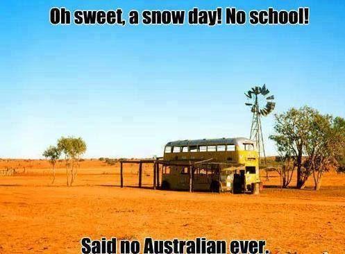 Said no Australian ever