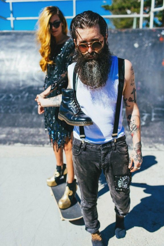 Coolest Engagement Shoot to Date – FACT: Ainsley & Sebastien - Rock n Roll Bride