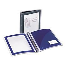"Avery Lightweight Flexi-View Presentation Binder 1"" Black 1"""