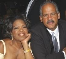 Oprah Winfrey and Stedman Graham    A long relationship sometime work for the right people.  Especially if their soul is happy!    www.soulbabynovel.com