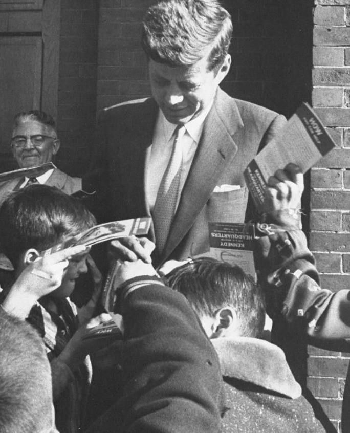 the life and career background of john fitzgerald kennedy John f kennedy in the presidential limousine in dallas, tex on nov  as was suggested by historian robert dallek in his 2003 biography, jfk  him throughout his life — his professional career and military career — and.